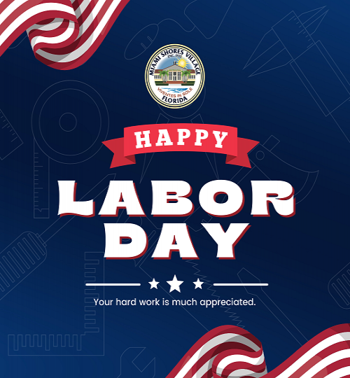 Village Offices Closed on Labor Day